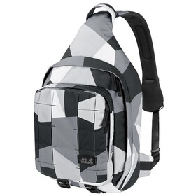 Jack Wolfskin TRT 10 Sling Bag, grey geo block